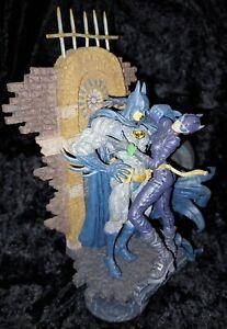 Kotobukiya BATMAN & CATWOMAN Cold Cast Statue Limited Edition 761/2500