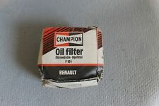 Renault 4 and5  NEW Oil Filter f101 champion