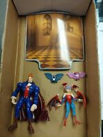 Darkstalkers 3 Demitri & Lilith & Bats(2) -Action Figure