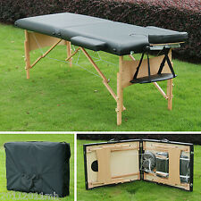 """Soozier 2.5"""" Pad 91"""" Portable Massage Table Facial SPA Bed Tattoo w/ Carry Bag"""