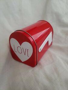 Target Bullseye Mini Red Mailbox Valentines Day Rae Dunn Inspired