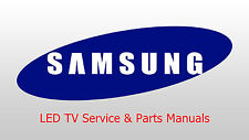 Samsung LED TV Service & Parts Manuals on 3 DVDs 10GB 538 Folders  +4000 Files