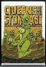 """Queens of the Stone Age Concert Poster 2"""" X 3"""" Fridge Magnet. Roseland Portland"""