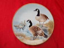 WATER BIRDS CANADA GOOSE Danbury Mint Ltd Ed Plate Sumner Collection