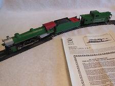 Model Railroad-HO Scale-AHM 2-8-2 Mikado Steam Loco & Caboose-Southern RR-New