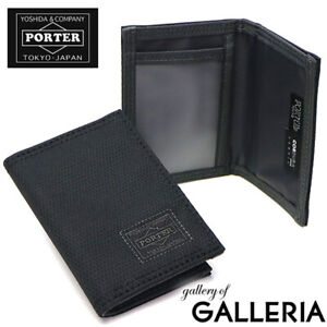 Yoshida Bag PORTER DILL PASS CARD CASE Wallet 653-05320 Black mens Japan New