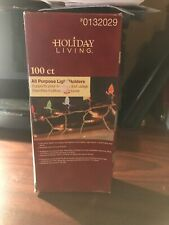 Holiday Living 100 ct. All Purpose Light Holders #0132029