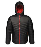 Regatta Womens Hooded Thermal Quilted Insulated Black Puffa Jacket. RRP £55