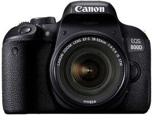 Canon EOS 800d DSLR Kit 18-55MM agsbeagle