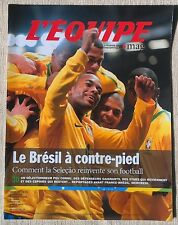 Equipe Magazine Seleçao Brésil Bertrand Gille Parra Trinh-Duc 2011