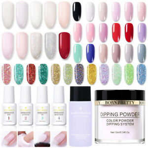 BORN PRETTY Acrylic Dipping Powder System Liquid No UV Nail Art Pro Starter Kit