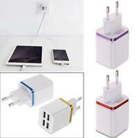Secteur mural AC adaptateur EU 4 Ports USB Prise Chargeur plug Pr iPhone Samsung