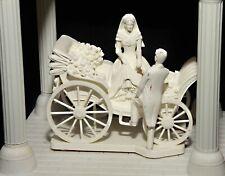 Wilton Keepsake Display Wedding Cake Topper - Bride & Groom w/ Coach & Columns