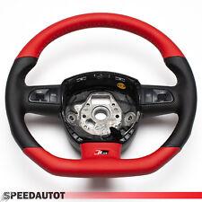 Ricambio Piatto Volante Multifunzione in pelle Rot-Schwar Audi A4, A6, A8