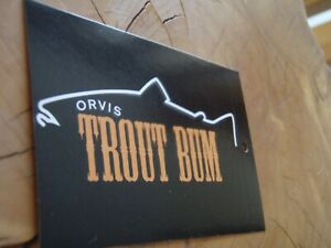 ORVIS Trout Bum decal/sticker