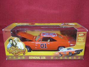 1:25 Dukes of Hazzard General Lee 1969 Dodge Charger Johnny Lightning Car Hazard