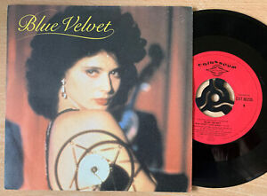 "Blue Velvet - Soundtrack - RARE 7"" Vinyl Single Various 1987 Roy Orbison"