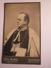 Augsburg - Bischoff Dr. Maximilian von Lingg - Portrait / CDV