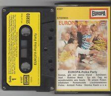 EUROPA POLKA PARTY - Kassette mit Franzl Hepp - Mir san die lustigen Holzhacker
