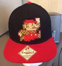 bacf3710ae5 Nintendo Super Mario Bros. Pixel Snapback Cap Hat NWOT