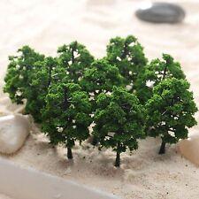 10Pcs 8cm Model Trees Street Railway Scenery Landscape 1:100-1:150 HO N Scale