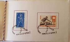 A complete set of complimentary First day issue of Gandhi stamps issued in 1969