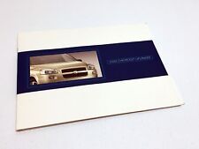 2005 Chevrolet Uplander Press Kit Brochure