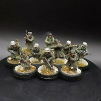Pro Painted 28mm Bolt Action German Winter Infantry ×10 Squad #2 ww2