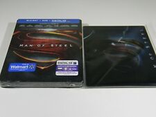 Man of Steel Blu-ray Steelbook [USA] OOS/OOP WALMART EXCLUSIVE WITH LENTICULAR