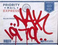 NAK143 - Tag sur Grande Enveloppe - NO SEEN/QUIK/BLADE/COPE/C215/INVADER/CRASH