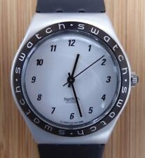 Vintage Swatch Irony Medium CONTRAST USA 1997 Excellent Condition With New Strap