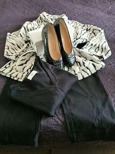 Kleiderpaket ** Größe 44/46 ** Jacke/ Hose/ Pullover/ ARA Schuhe !!!
