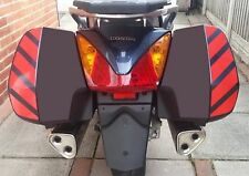 Rojo Reflectante cheurones Kit Para Honda Pan European Pegatinas ST1300