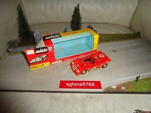 Ancien Solido 1/43 - Ferrari 312 PB - EM