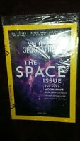 NATIONAL GEOGRAPHIC MAGAZINE, THE SPACE ISSUE THE NEXT MOON SHOT AUGUST, 2017