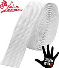 Nastro copri manubrio ULTRA GRIPPANTE composto da cuscinetti in gomma BIANCO