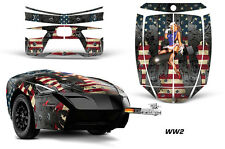 AMR Racing Freedom Trailer Graphic Kit Decal Wrap For CanAm Spyder WW2 BOMBER