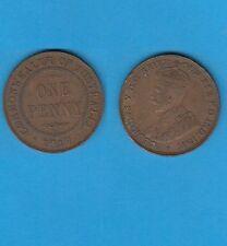 § Australie  Australia  Bronze Coin Georges V One  Penny Bronze 1917