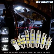 10pcs Xenon White Car LED Interior Light package Fit 2000-2005 Pontiac Montana