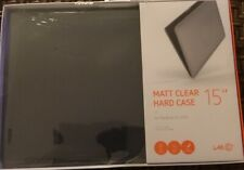 "Matt Clear Hard Case 15"" for MacBook Pro 2016"