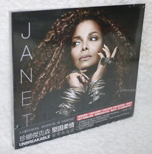 Janet Jackson Unbreakable Taiwan CD w/OBI(19-trks)「Promise Of You、Love U 4 Life」