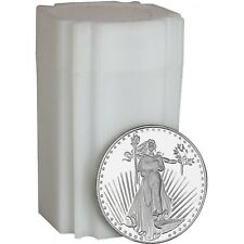 Saint-Gaudens 1oz .999 Silver Medallion by Silvertowne 20 Piece Lot in Tube