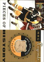 2001-02 Upper Deck Legends Pieces of History Sticks #PHPE Phil Esposito