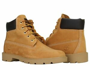 Junior/Youth Timberland  6 Inch Basic Waterproof Boots Wheat 10960 ALL SIZES