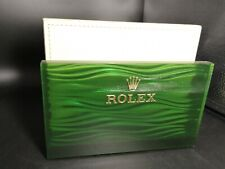 Rolex fermacarte paperweight original leather very beautiful perfect conditions