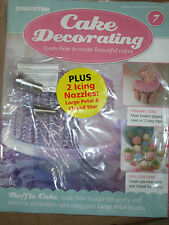 DeAgostini Pastel Decoración revista número 7 grandes Pétalo & Cerrado Star Glaseado Boquilla