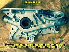 ORIGINAL OPEL Ölpumpe Astra G + Zafira A 2,0 X20XER X20XEV Z20LET OPC Öl Pumpe
