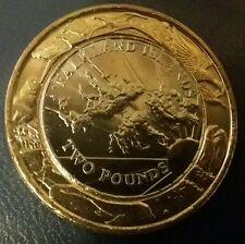 TWO POUNDS FALKLAND ISLANDS £2 UNC 2004 COIN