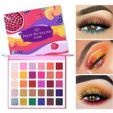 UCANBE 30 Colors Eyeshadow Makeup Pearl Metallic Shimmer Eyeshadow Palette U7H