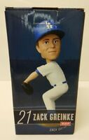Zack Greinke 2014 Los Angeles Dodgers STADIUM PROMO Bobble Bobblehead SGA